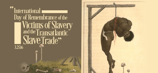 International Day of Remembrance of the Victims of Slavery and the Transatlantic Slave Trade